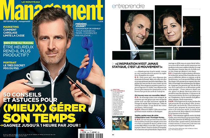 Interview de Sophie de Parcevaux - Management septembre 2016